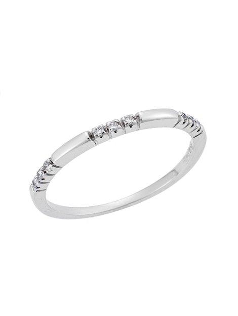 Λευκόχρυσο Σειρέ Δαχτυλίδι 18Κ με Διαμάντια 0935a1dc028